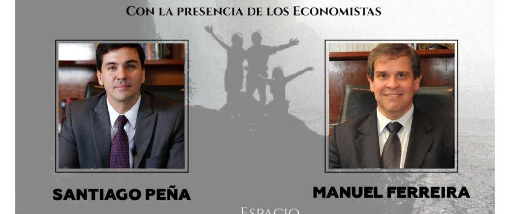 """Santiago Peña y Manuel Ferreira participarán en """"Espacio de Libertad"""""""