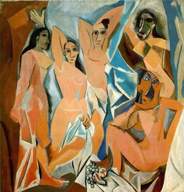 Las señoritas de Avignon por Pablo Picasso