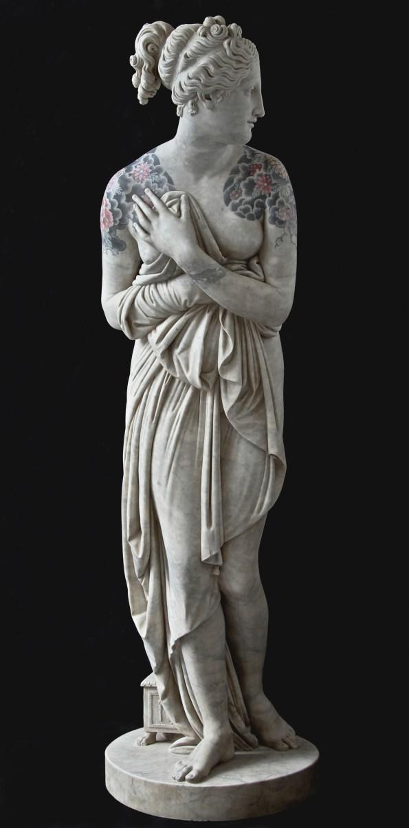 Venus Itálica por Fabio Viale