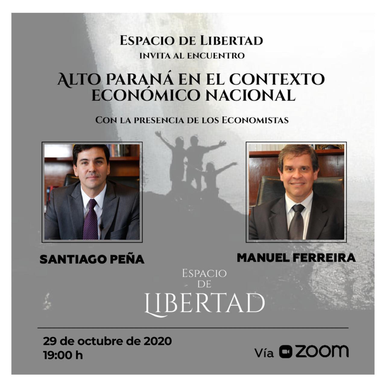 Santiago Peña y Manuel Ferreira participarán en